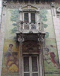Historia del muralismo argentino Historia casa de los azulejos