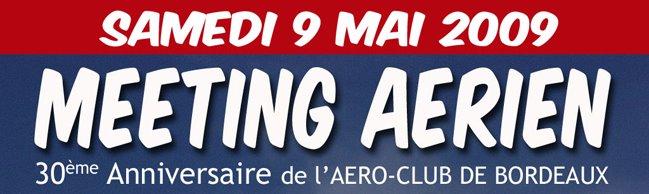 meeting des 30 ans de l'Aéro Club de Bordeaux
