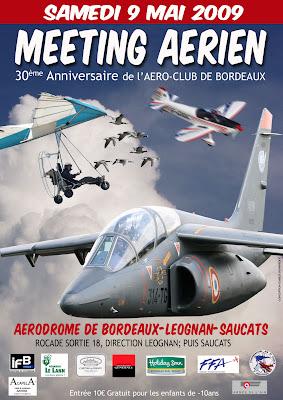 Meeting a Bordeaux-Léognan-Saucats ce samedi 9 mai 2009 Affiche-2009-web