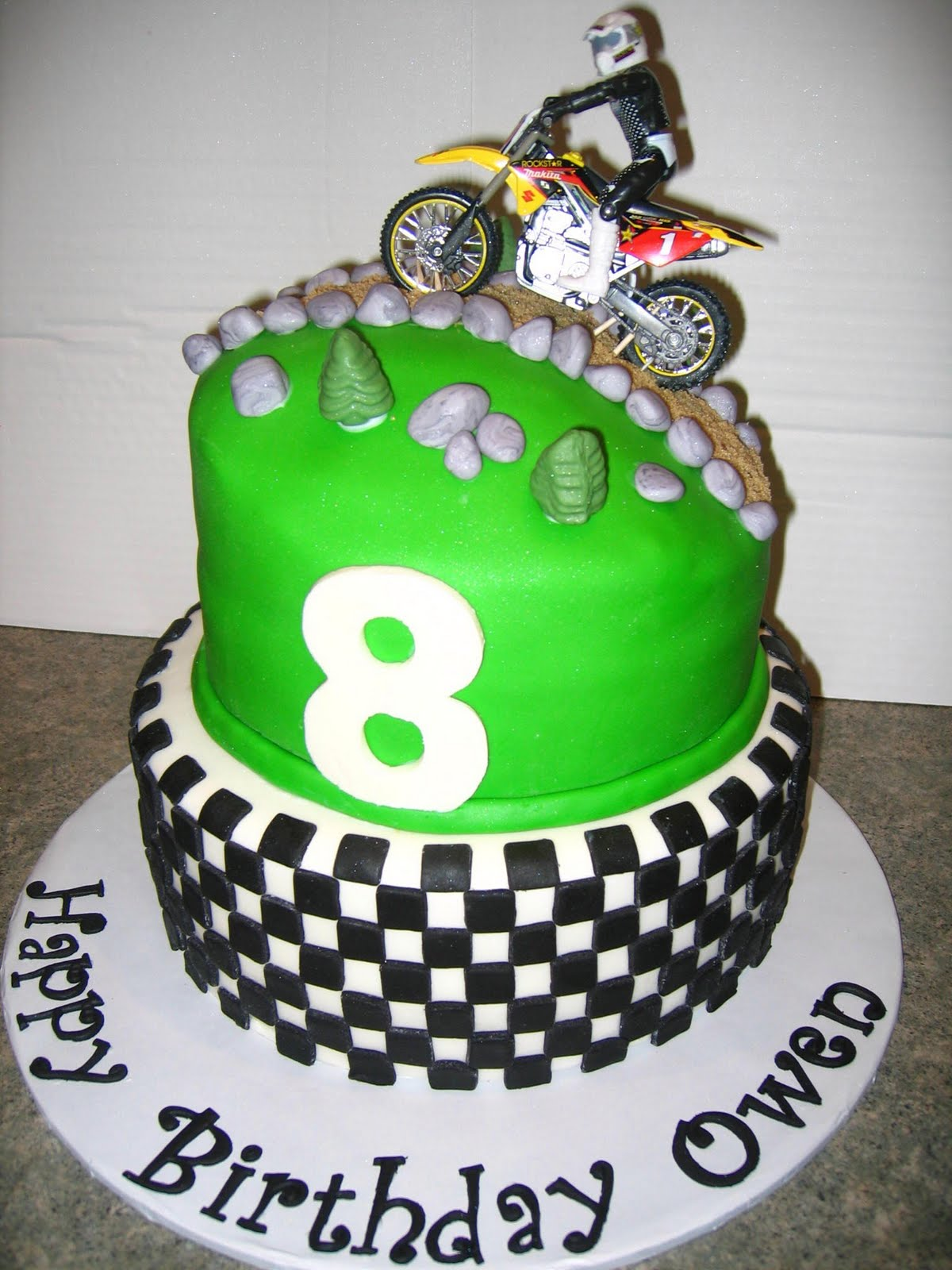 dirt bike cake - photo #41