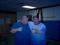 Cooney and friend Butterbean