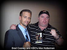 Cooney and HBO's Max Kellerman