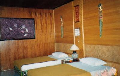 Tampak dalam Cottage di Pulau Putri Pulau Seribu resort