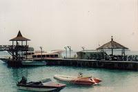 Water sport, Pantai di Pulau Sepa