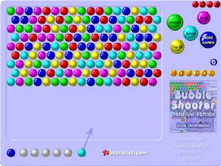 bubble shooter full screen online