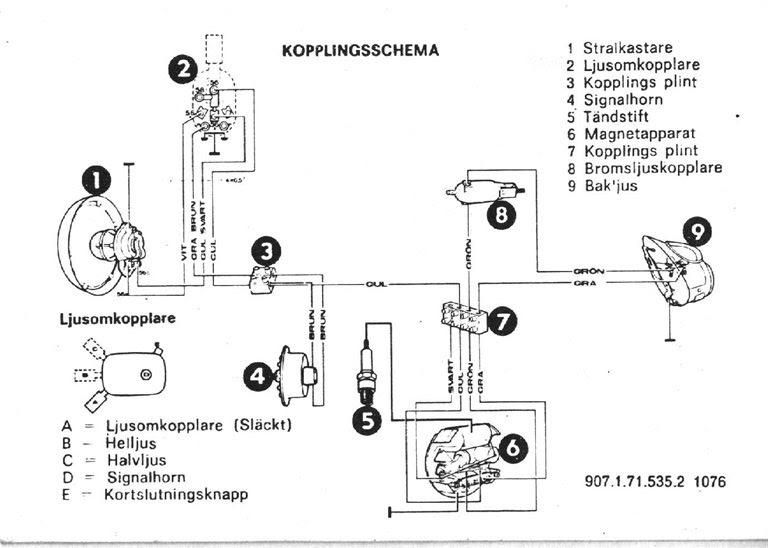 puchmaxituning blogspot se  kopplingsschema puch maxi