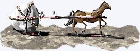 A 3ª Lei de Newton - Ação e Reação