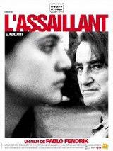 Afiche en francés de 'El asaltante'