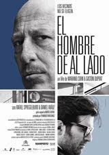 Afiche de 'El hombre de al lado'