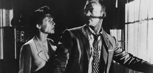 Anne Bancroft y Aldo Ray en 'Nightfall'