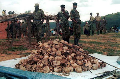 Human remains from the 1994 Rwandan genocide.(Photo courtesy of InMyHair).