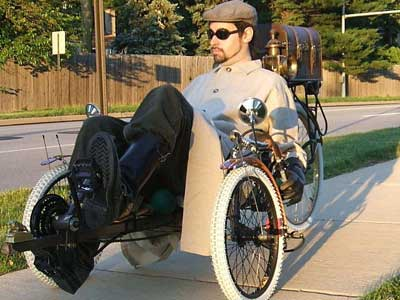 Friday Caption Contest - Steampunk Recumbent Edition