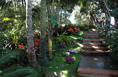 Pat And Kathie On Foot In San Diego Encinitas Meditation Gardens