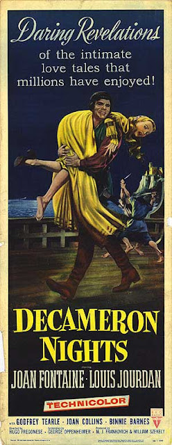 Decameron Nights LEGENDARY DAME 50S FOCUS DECAMERON NIGHTS 1953