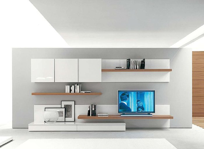 Muebles mandala centros de entretenimiento for Muebles para television de madera modernos