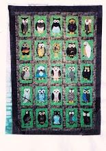 SAL  owl quilt