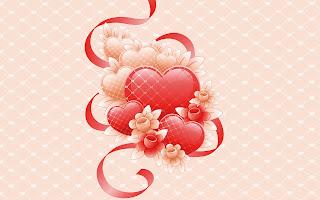 Coeur fond ecran Amour