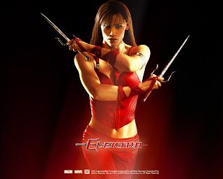 Elektra wallpaper Elektra une tueuse légendaire