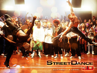 Street dance 3D wallpaper