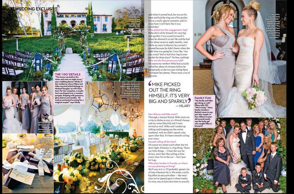 Hilary Duff Wedding Cake - annesutu