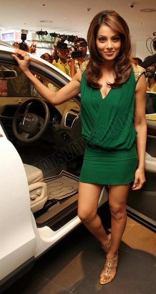 Celebrities All Over The World Bipasha Basu Launches Audi Q5