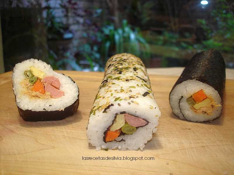 Las recetas de silvia como preparar arroz para sushi for Como hacer arroz para sushi