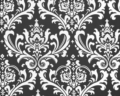 black and white damask background. lack and white damask