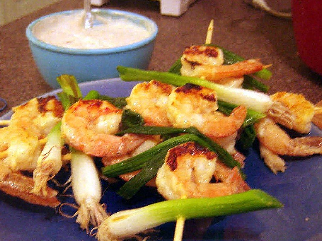 Laura's Apicius: Miso-glazed Shrimp Skewers