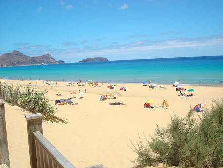 Uma praia magnífica