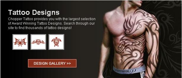 Chopper tattoo far and away the best tattoo design internet site I have seen