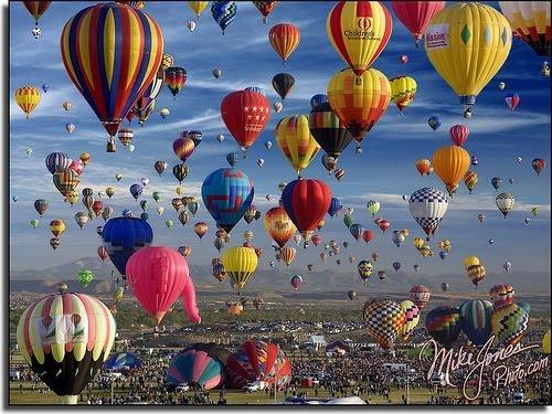 Many Beautiful Balloons In The Sky : Daily: BALLOON