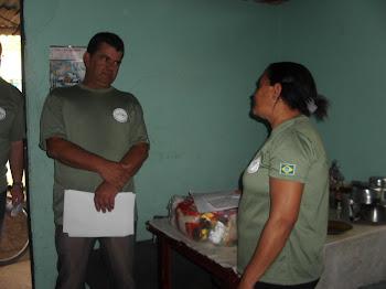 DIRETOR PRESIDENTE ANTONIO FURTADO E VOLUNTARIA FATIMA
