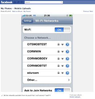 So many wireless networks... no passwords