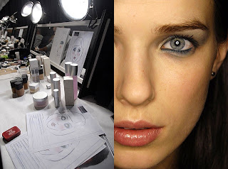 lelarose makeup Fashion Week: Backstage At Lela Rose