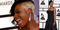 fantasia Grammys 2008 Red Carpet. Yawn.