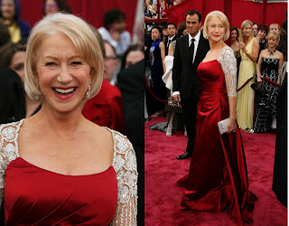 HelenMirren Oscars 2008 Red Carpet Recap