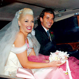 gwenstefani 06 400X400 My Favorite Celebrity Brides
