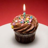 cupcake Happy Birthday To Me