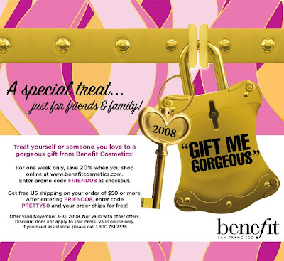 benefit+friends+and+family Benefit Cosmetics: Friends &amp; Family
