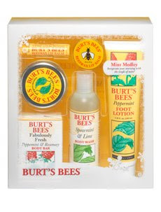 burts bees mint medley gift Burts Bees Giveaway Winner   Is It You?