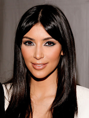 kim+kardashian+awesome+cat+eye Kim Kardashians Fashion Week Cat Eye Re created
