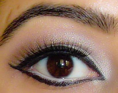 indian+girl+kim+kardashian+cat+eye2 Kim Kardashians Fashion Week Cat Eye Re created