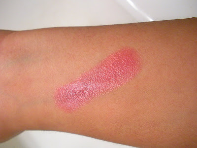 Swatch of New MAC Viva Glam VI Special Edition Lipstick