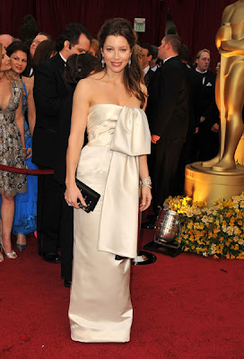 jessica biel academy awards 2009 Oscars 2009 Beauty: Jessica Biel