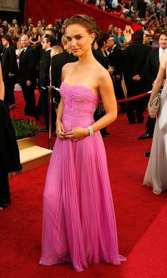 natalie portman academy awards 2009 Oscars 2009 Beauty: Natalie Portman
