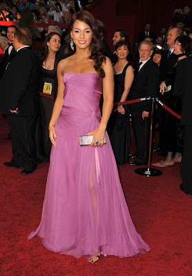 alicia keys academy awards 2009 Oscars 2009 Beauty: Alicia Keys