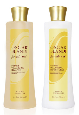 oscar+blandi+pronto+wet+shampoo+and+conditioner Oscar Blandi Pronto Wet Volumizing Collection Giveaway