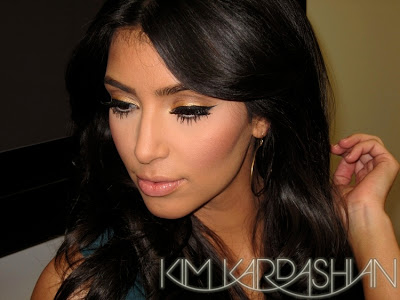Kim+Kardashian+Eyeliner+Makeup Check Out Kim Kardashians Cleopatra esque Eyeliner!