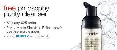 free+philosophy Free Philosophy, Korres and DuWop Gifts With Purchase at Sephora.com