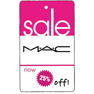 mac+sale+tag MAC Cosmetics Friends & Family Sale: June 16 18